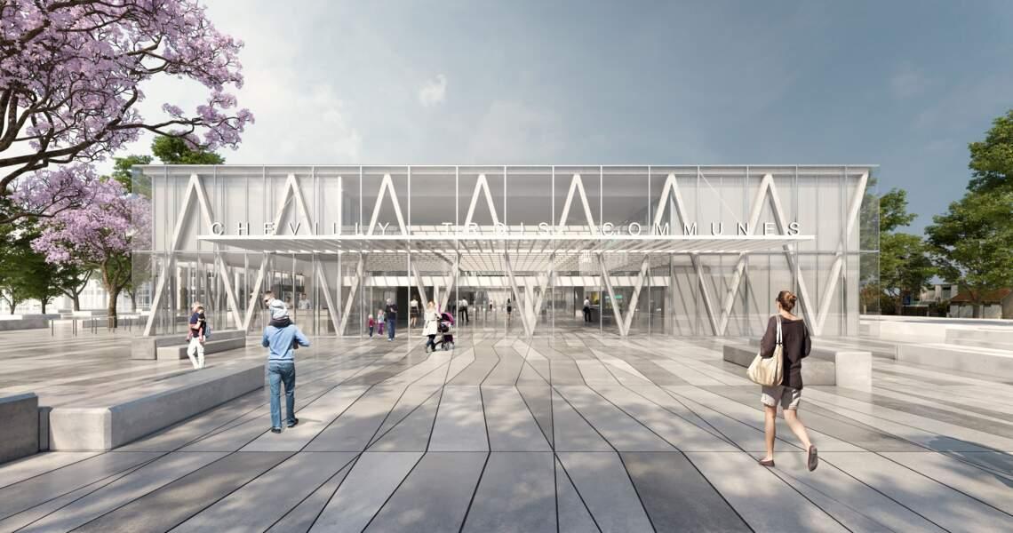 Gare de Chevilly Trois-Communes