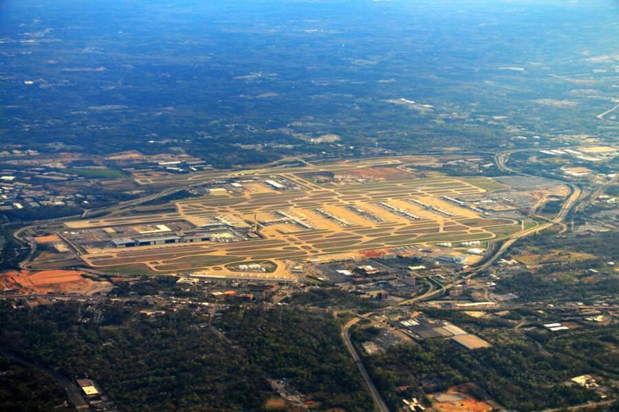 1er : Aéroport international Hartsfield-Jackson d'Atlanta (Etats-Unis)