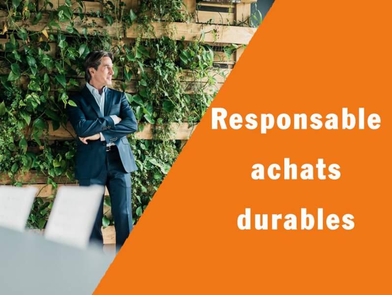 """Responsable achats durables - Il garantit un sourcing """"propre"""""""