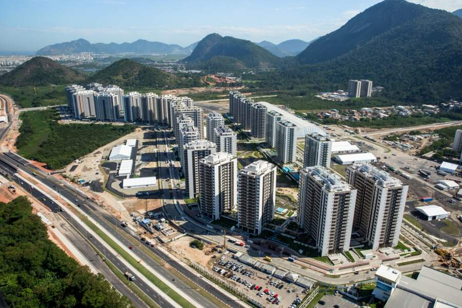 Le village olympique: 31 immeubles, 3.000 chambres…