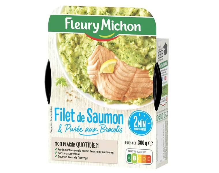 Fleury Michon - Filet de saumon & purée aux brocolis