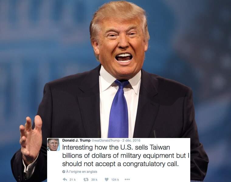 Le début des relations américano-taiwanaises mécontente Pékin