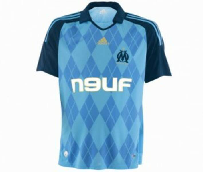"""Le maillot """"Jacquard"""" (2008-2009)"""