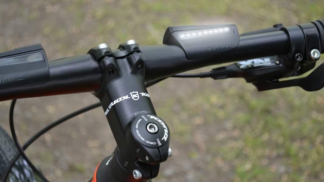 Un guidon de vélo qui vous indique le chemin