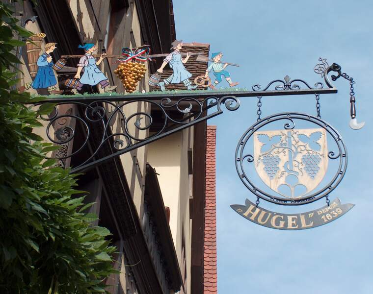 Hugel et fils : ses vins sont exportés à travers le monde
