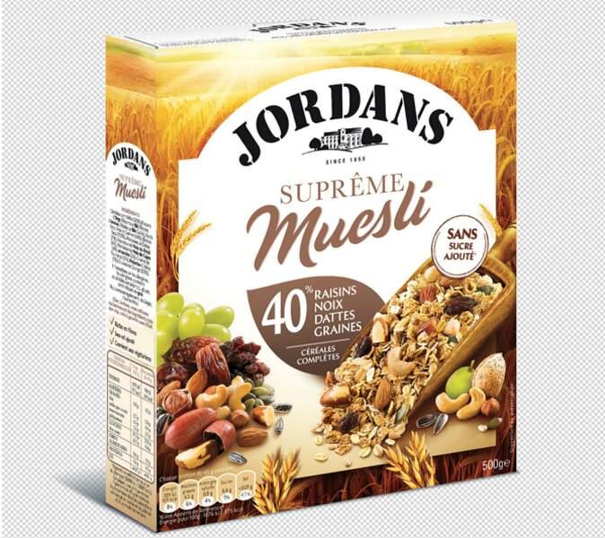 Jordans - Muesli aux raisins, noix, dattes et graines