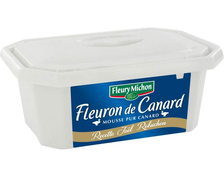 Fleuron de canard, mousse pur canard Fleury Michon