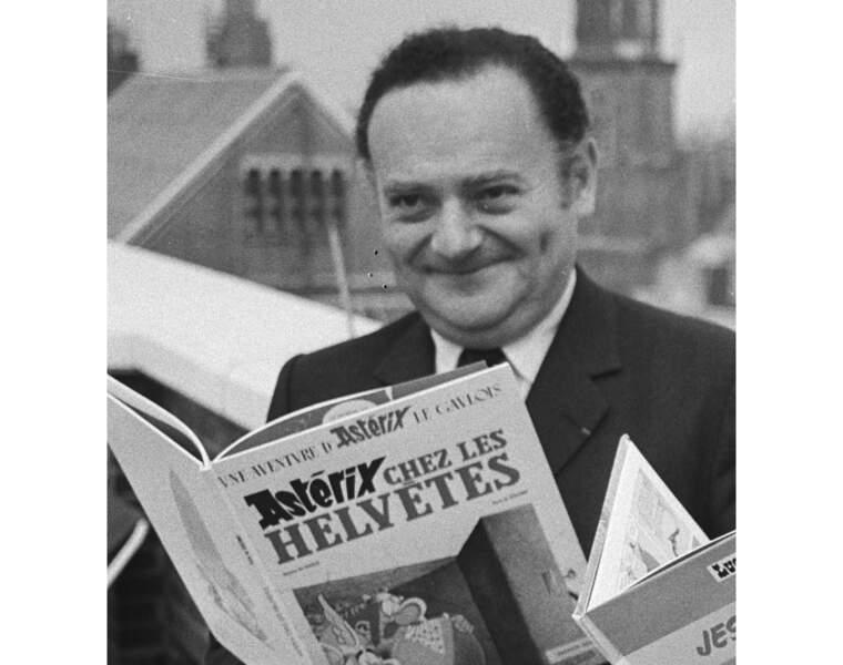 Réné Goscinny (1926-1977) : le scénariste d'Asterix cartonne toujours autant