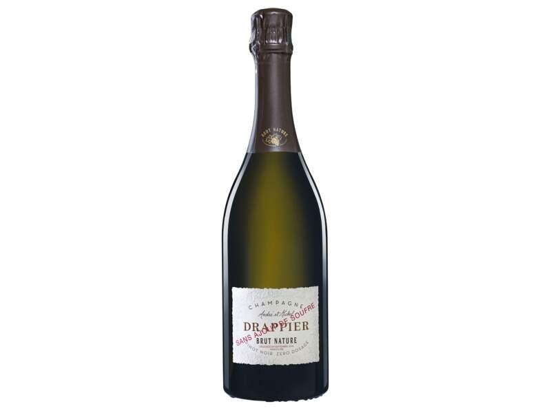 Champagne Drappier, Brut Nature sans soufre