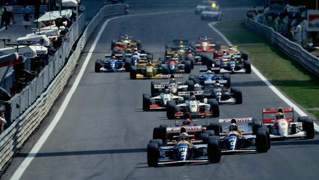 1992 - 1993 : Williams-Renault domine