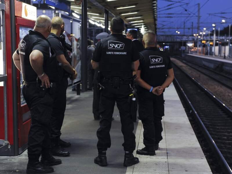 Les agents RATP et SNCF