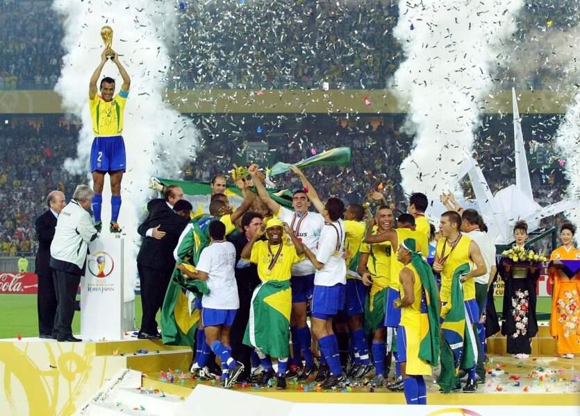Finale de la Coupe du monde de 2002 : Brésil 2 - Allemagne 0