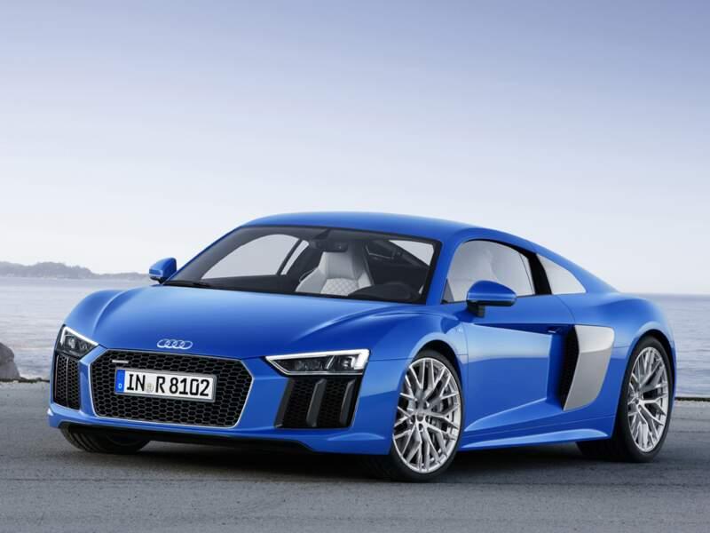 Nouvelle Audi R8 : elle file à 330 km/h