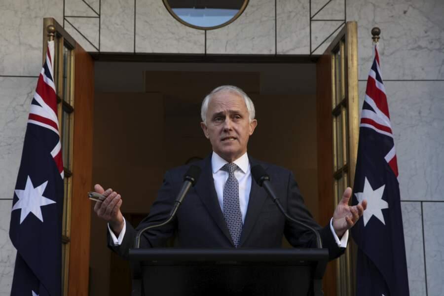 Malcolm Turnbull : Premier ministre de l'Australie