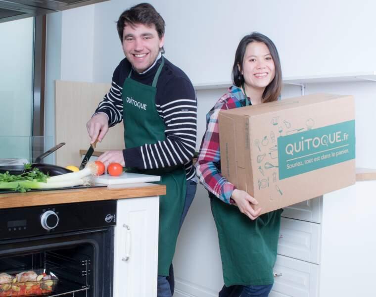 Distribution : Quitoque livre les ingrédients, à vous de cuisiner