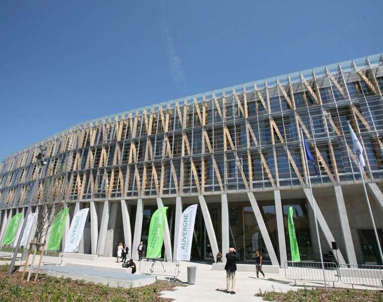 L'hôtel de région de Clermont-Ferrand : 80 millions d'euros