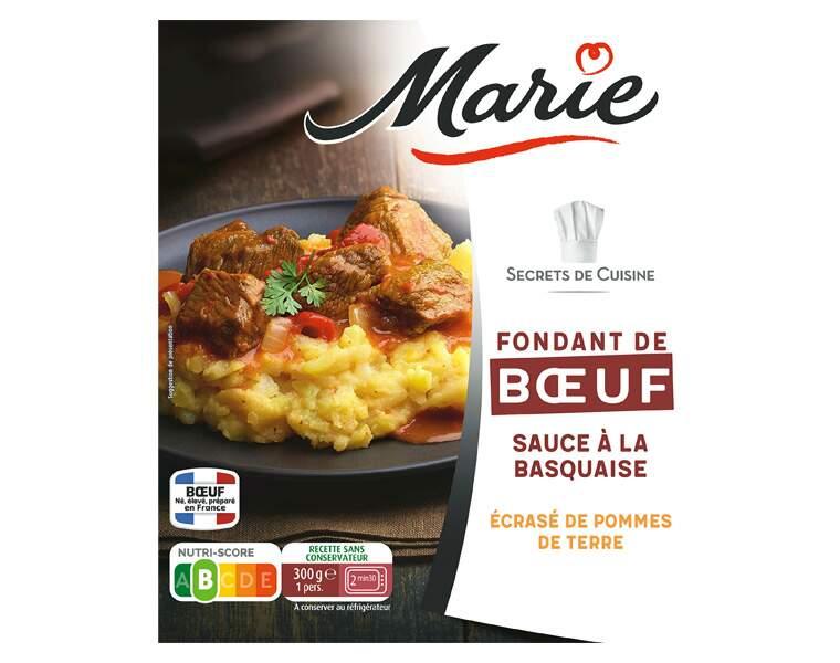 Marie - Fondant de bœuf, sauce à la basquaise