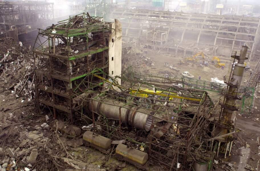21 SEPTEMBRE 2001 : Explosion de l'usine chimique AZF à Toulouse