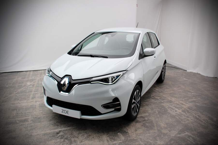 Renault Zoe Blanc Quartz
