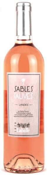Château Laballe, Sables fauves rosé, Terroirs landais