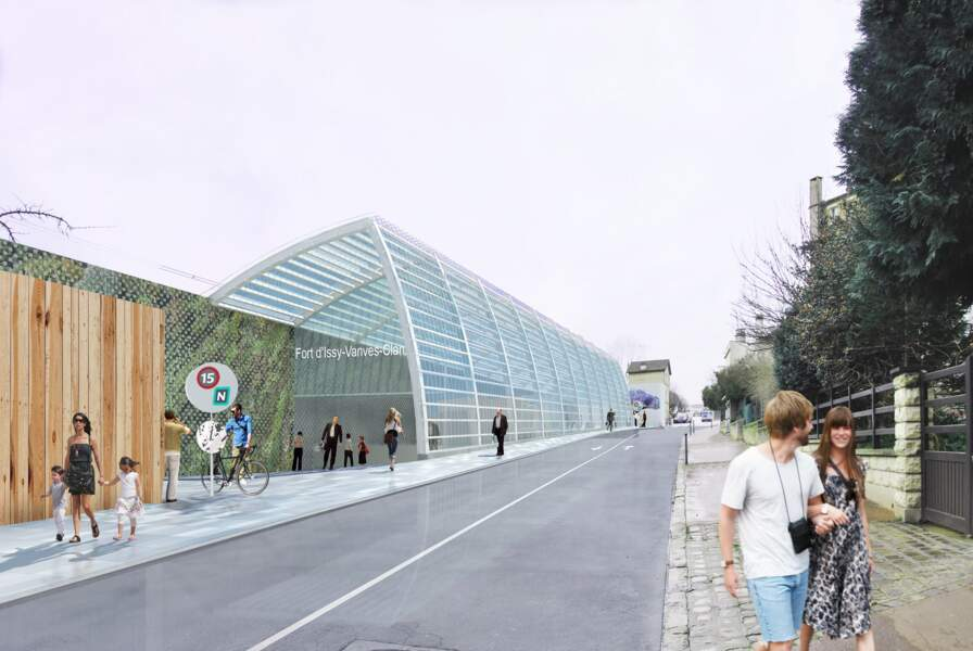 Gare de Fort d'Issy-Vanves-Clamart
