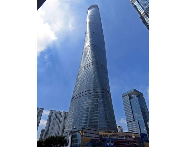 N°5 - Shanghai tower à Shanghai (Chine)