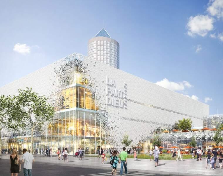 Le centre commercial de la Part-Dieu : une rénovation à 300 millions