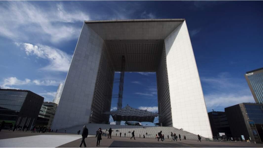 Rénovation de la Grande Arche de la Défense (2016)
