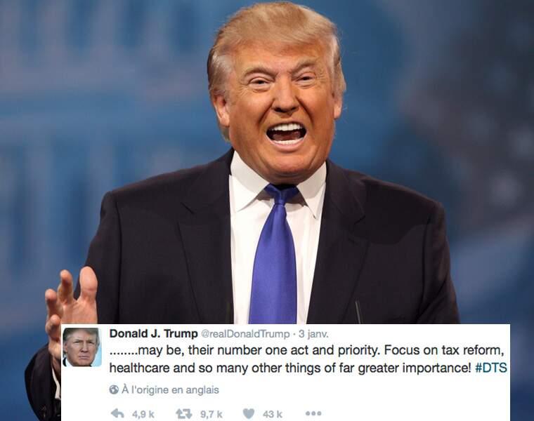 La réforme fiscale, une priorité de Donald Trump