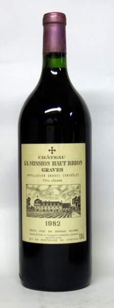 Château La Mission Haut Brion, 1er cru classé, 1982, (1 Magnum)
