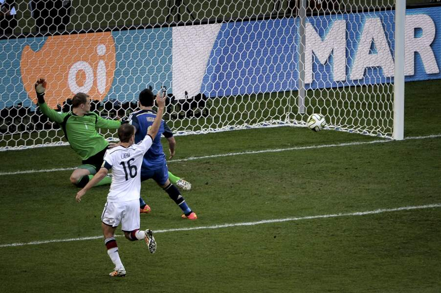 Finale de la Coupe du monde de 2014 : Allemagne 1 - Argentine 0