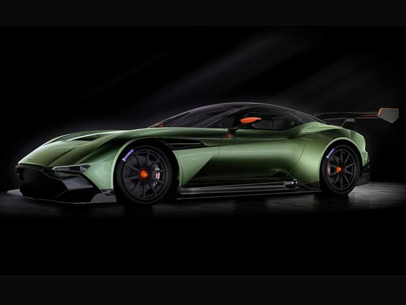 Aston Martin Vulcan : un joujou à 2,5 millions d'euros