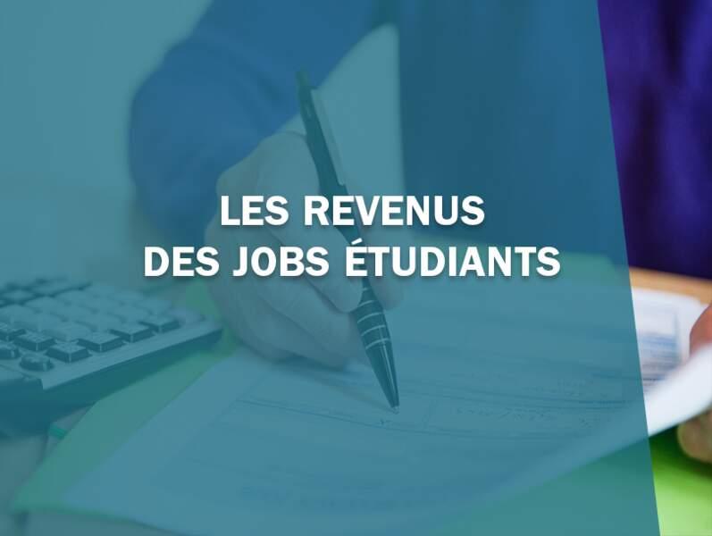 Les revenus des jobs étudiants
