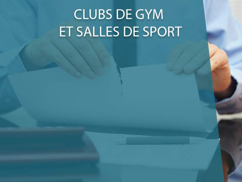 Clubs de gym et salles de sport