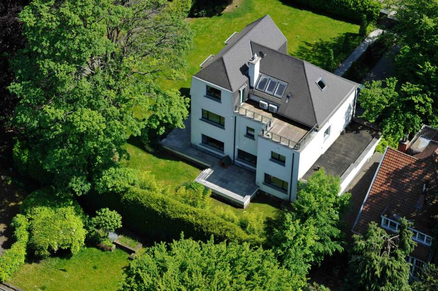 Laurent Tapie : une maison assez banale près de Bruxelles