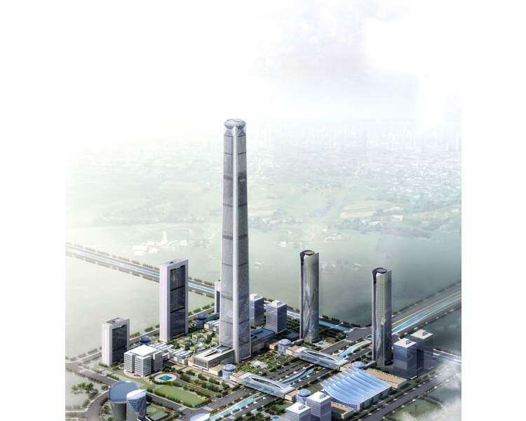 N°9 - Goldin Finance 117 à Tianjin (Chine)