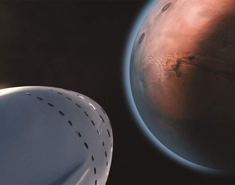 Colonisation de Mars : habiter la planète rouge dès 2023