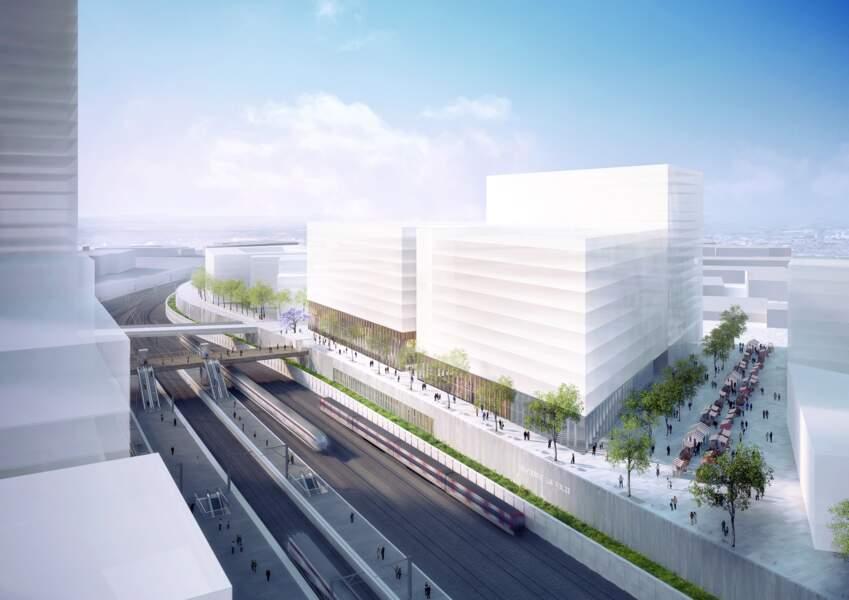 Gare de Nanterre La Folie