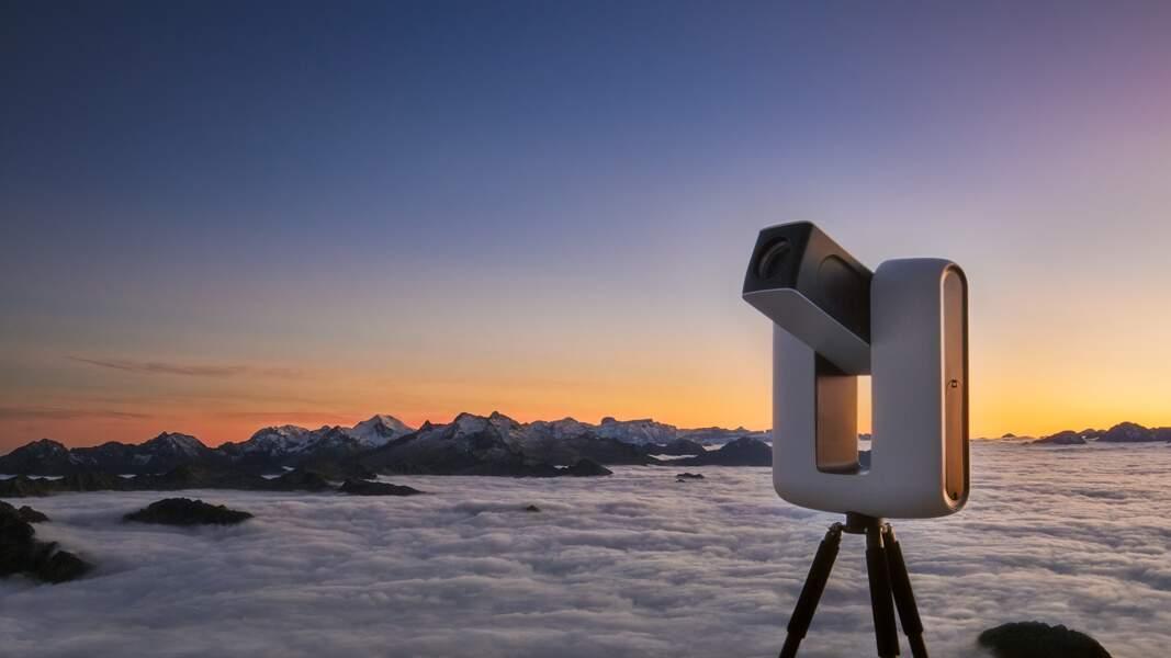 Un télescope connecté pour photographier l'espace