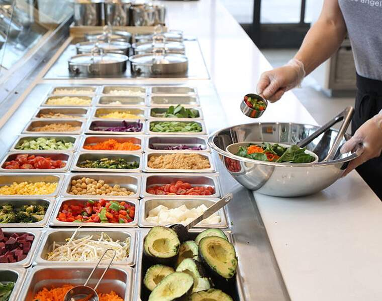 SWEETGREEN: Fast-foods 100% salades