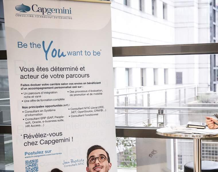 Capgemini (audit-conseil): 2.800 postes
