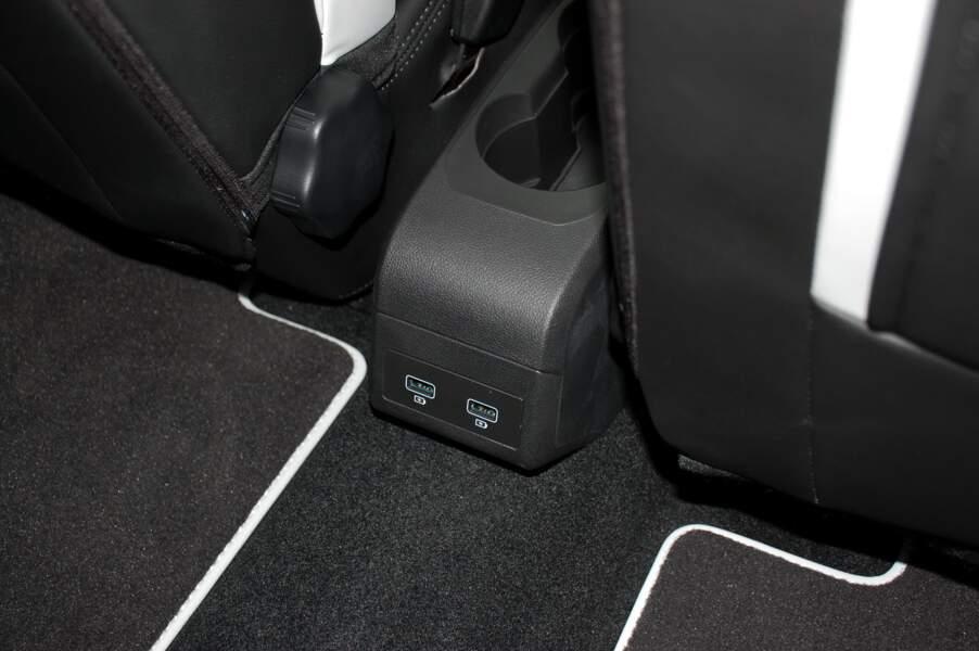 Des ports USB à l'arrière