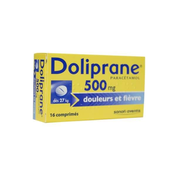 À privilégier : Doliprane 500 Mg, 16 comprimés