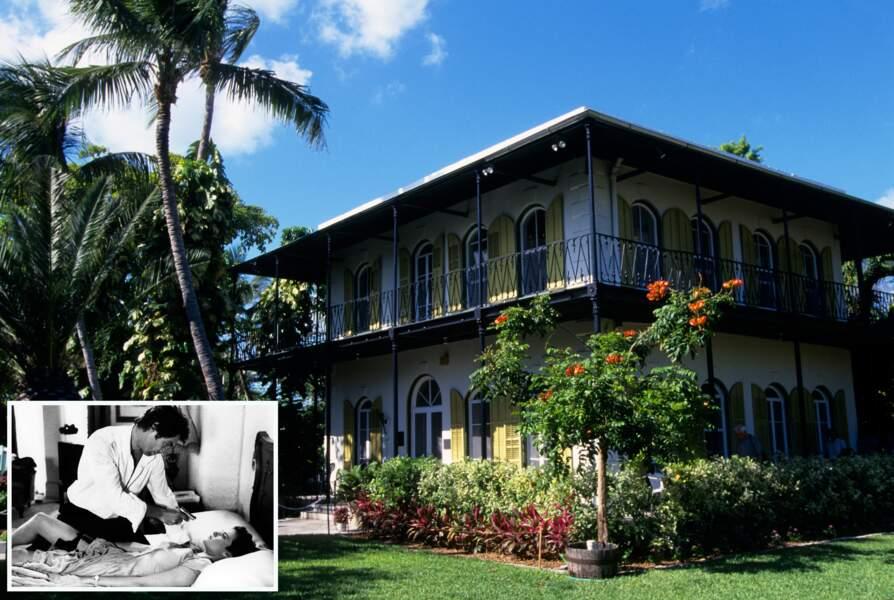 La maison d'Ernest Hemingway à Key West (Etats-Unis)