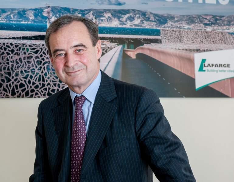 Le CV de Bruno Lafont, P-DG de Lafarge