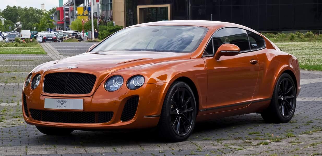 7 : Mario Balotelli préfère les Bentley