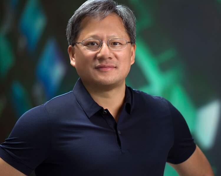 6ème : Jen-Hsun Huang – Nvidia