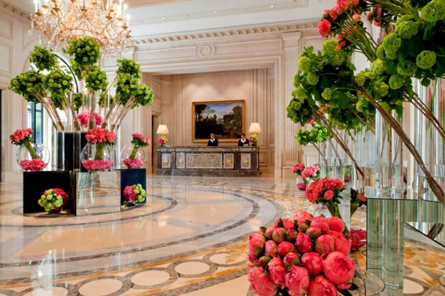 Four Seasons George V : des compositions florales
