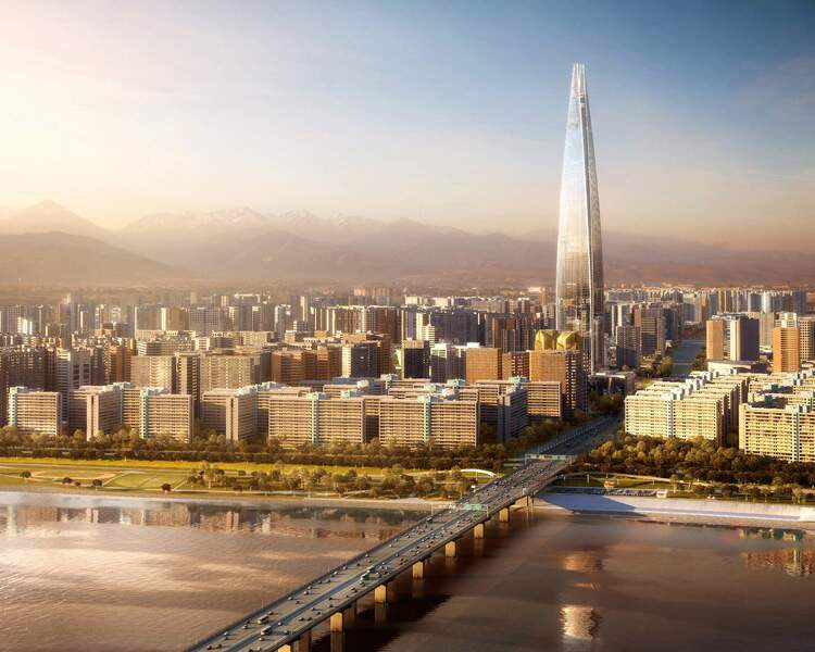 N° 10 - Lotte World Tower à Séoul (Corée du sud)