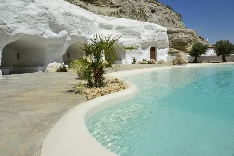Dormez au frais dans une maison troglodyte en Andalousie